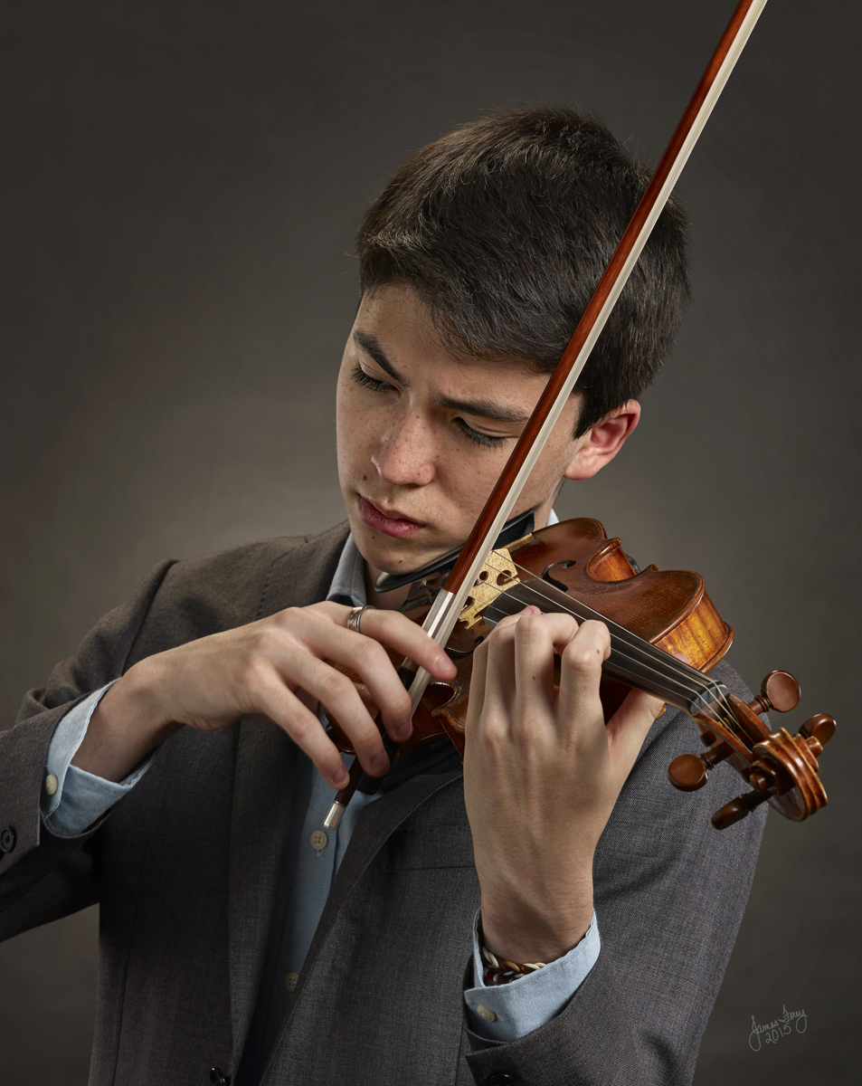 Headshot Violinist, Maryland